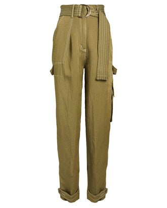 Ellington Twill Cargo Pants, OLIVE/ARMY, hi-res