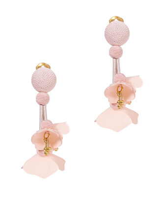 Falling Flower Earrings, BLUSH, hi-res