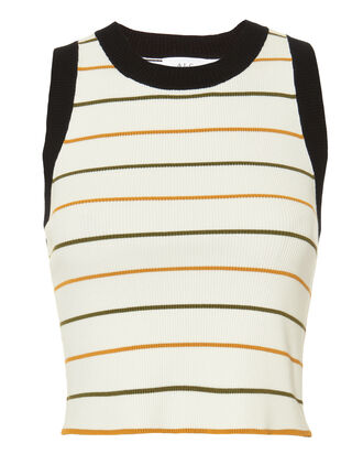 Rita Striped Crop Tank, MULTI, hi-res