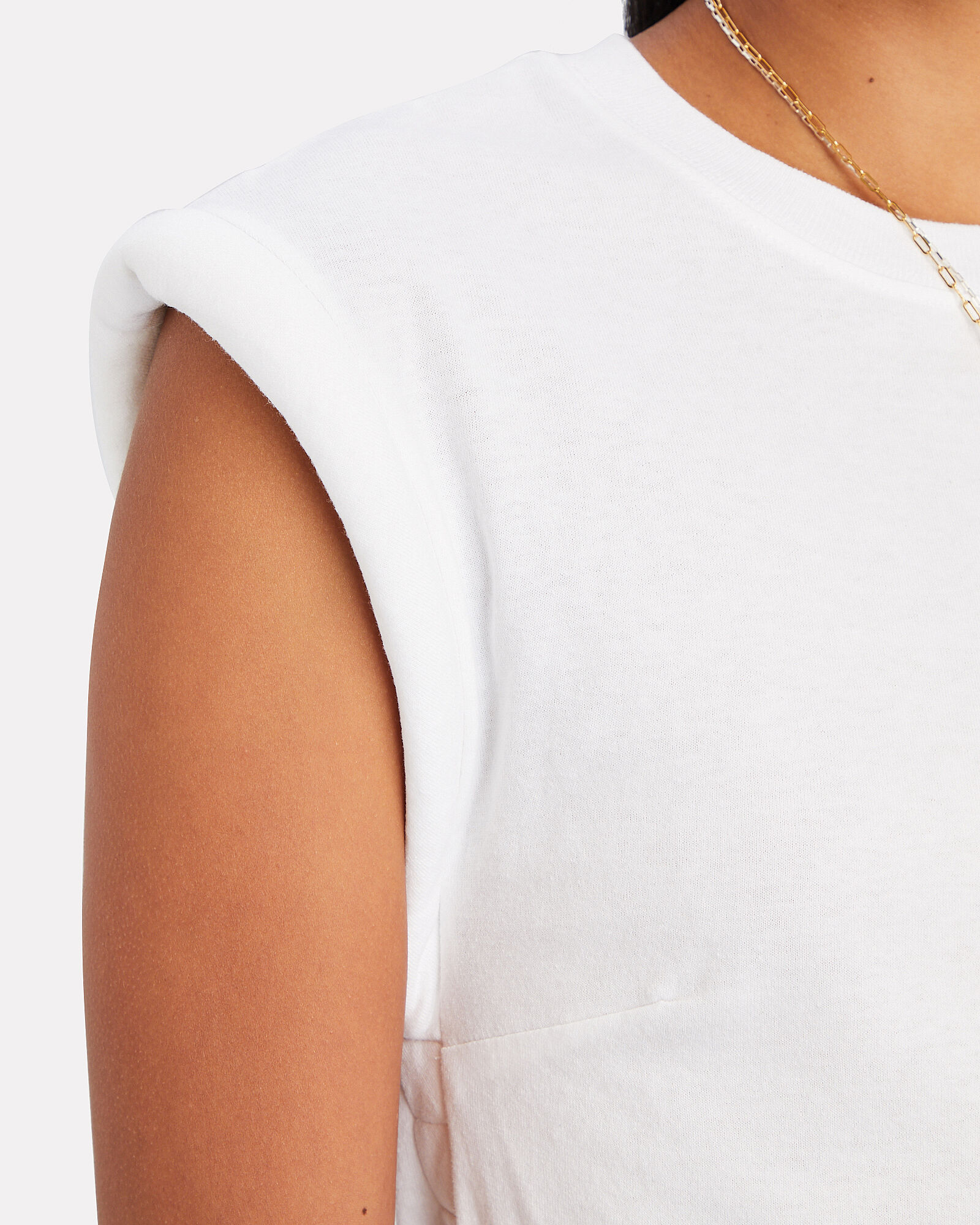 Kairi Padded Shoulder T-Shirt, , hi-res