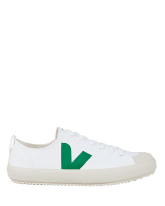 Nova Low-Top Sneakers, WHITE/GREEN, hi-res