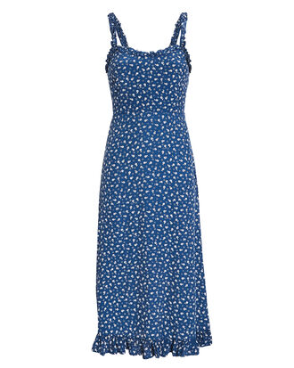 Noemie Floral Dress, BLUE/FLORAL, hi-res