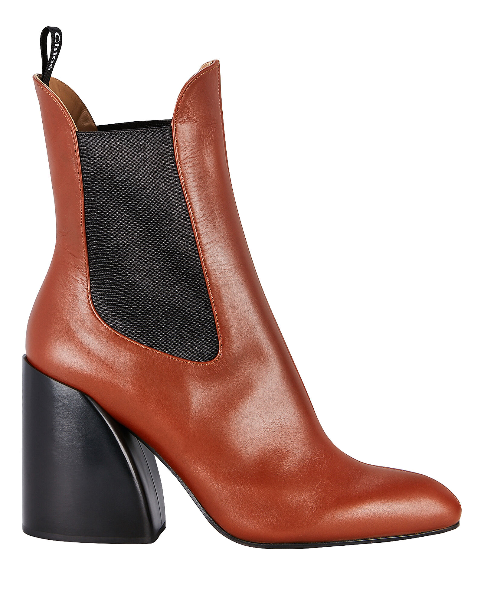 Wave Chelsea Leather Boots, BROWN, hi-res