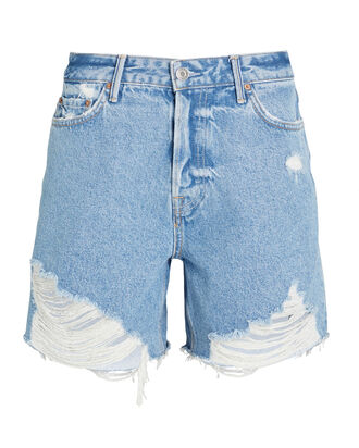 Jourdan Cut-Off Denim Shorts, , hi-res
