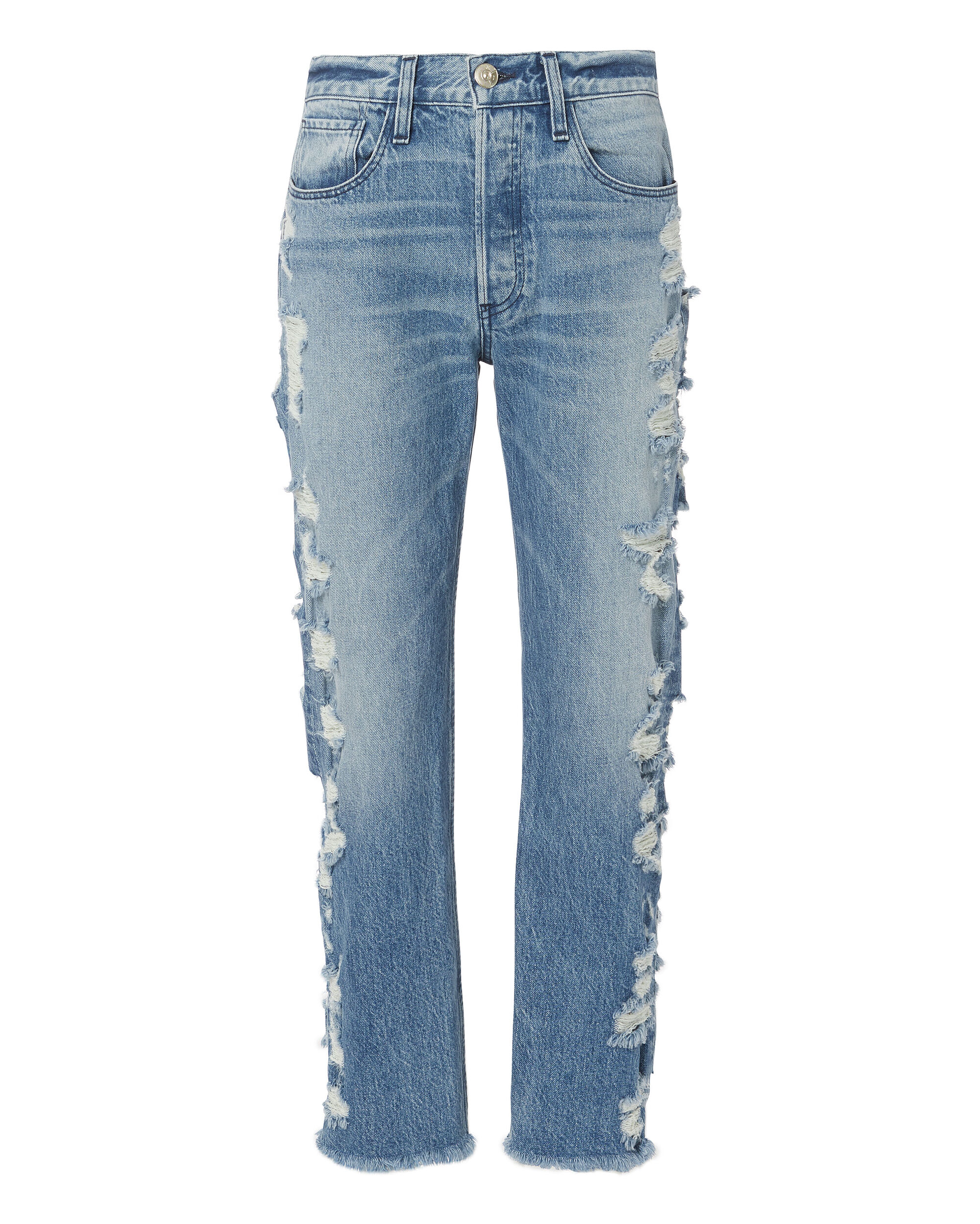 W3 Higher Ground Dosa Cropped Jeans, DENIM, hi-res