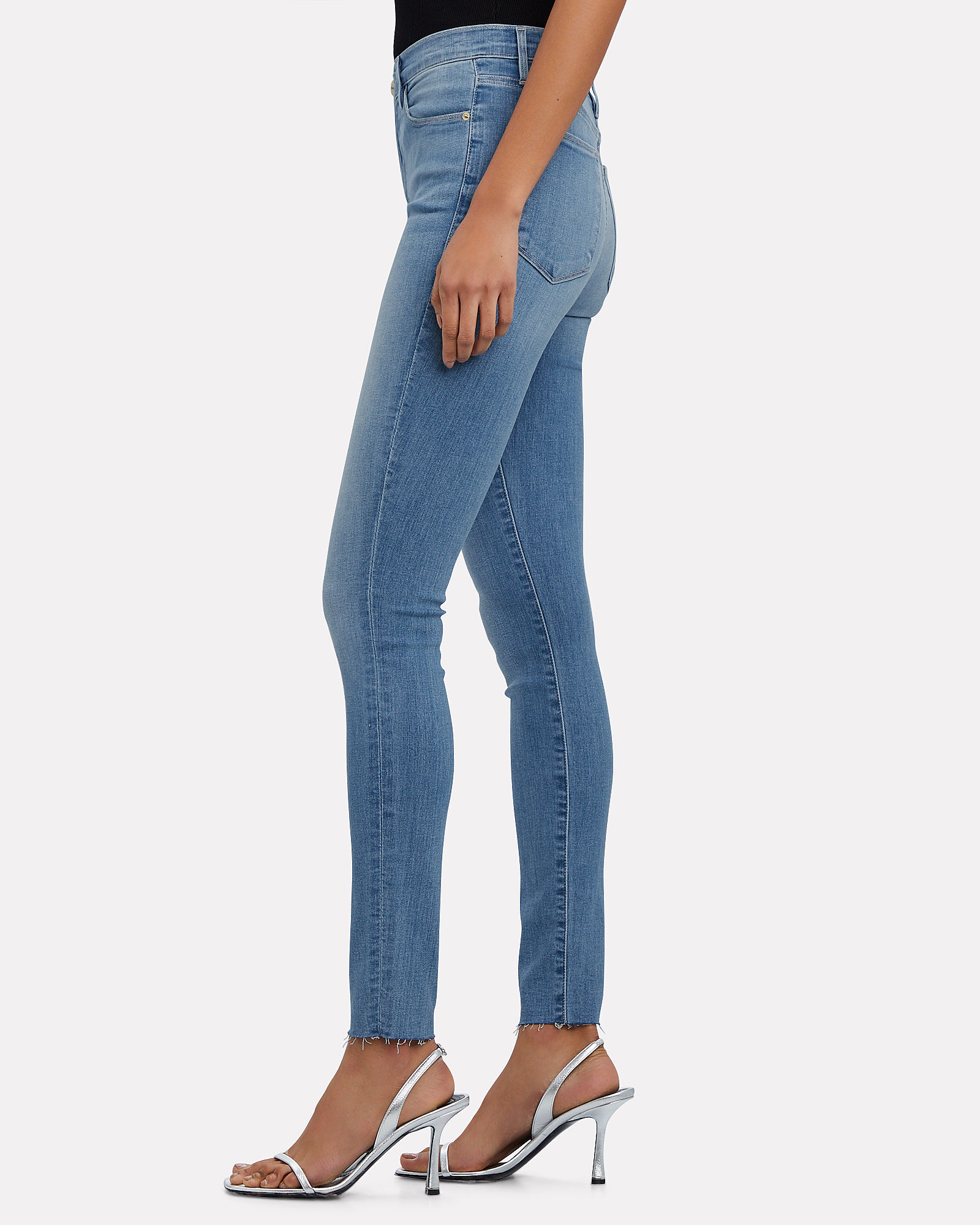 Le High Rise Skinny Jeans, DENIM, hi-res