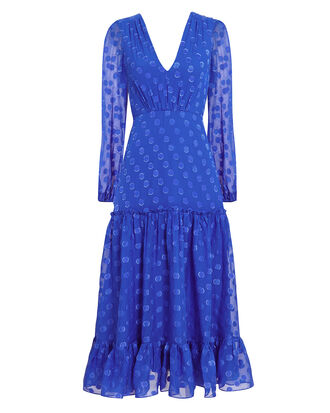Devon Midi Dress, COBALT BLUE, hi-res