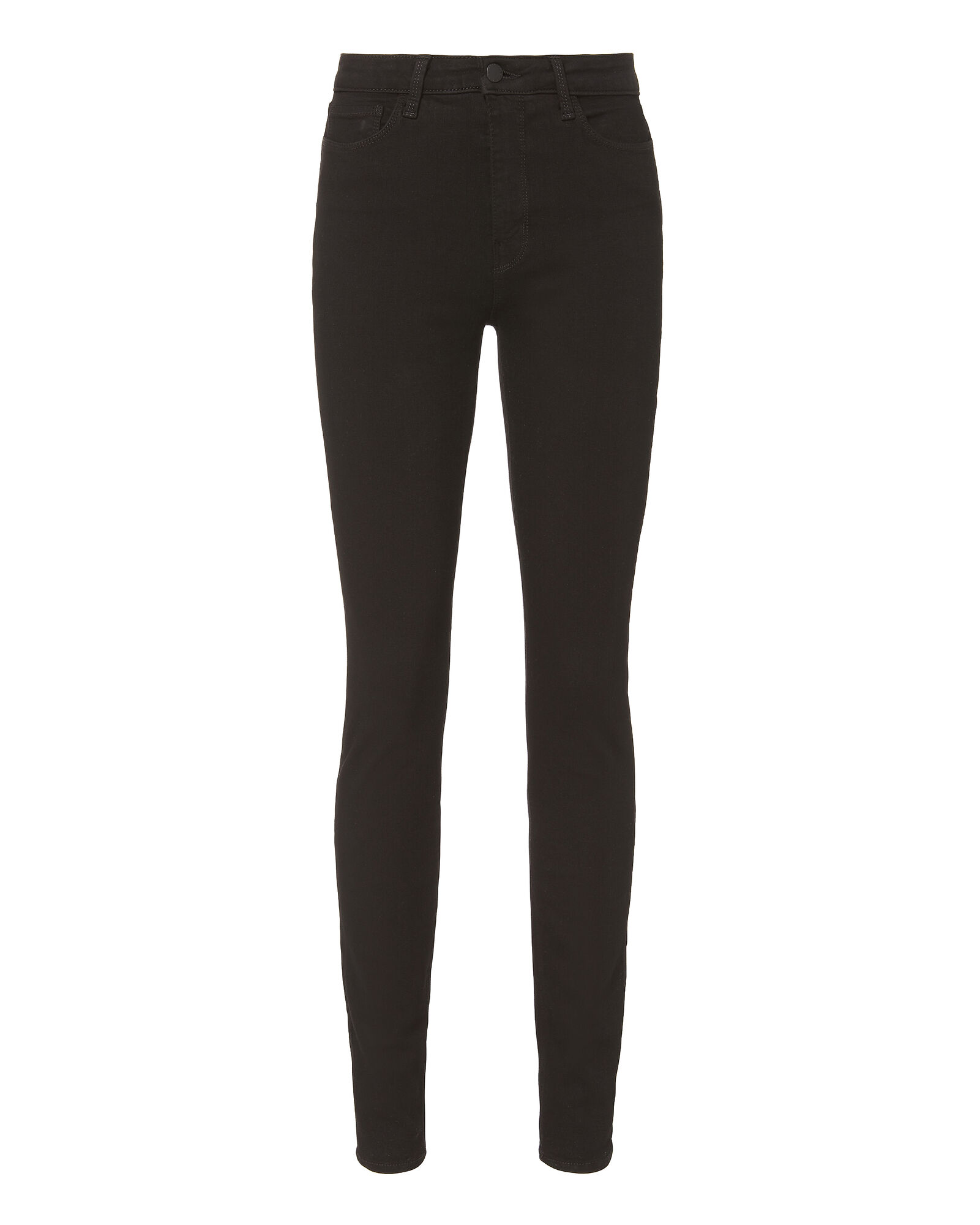Marguerite High-Rise Skinny Jeans, BLACK, hi-res