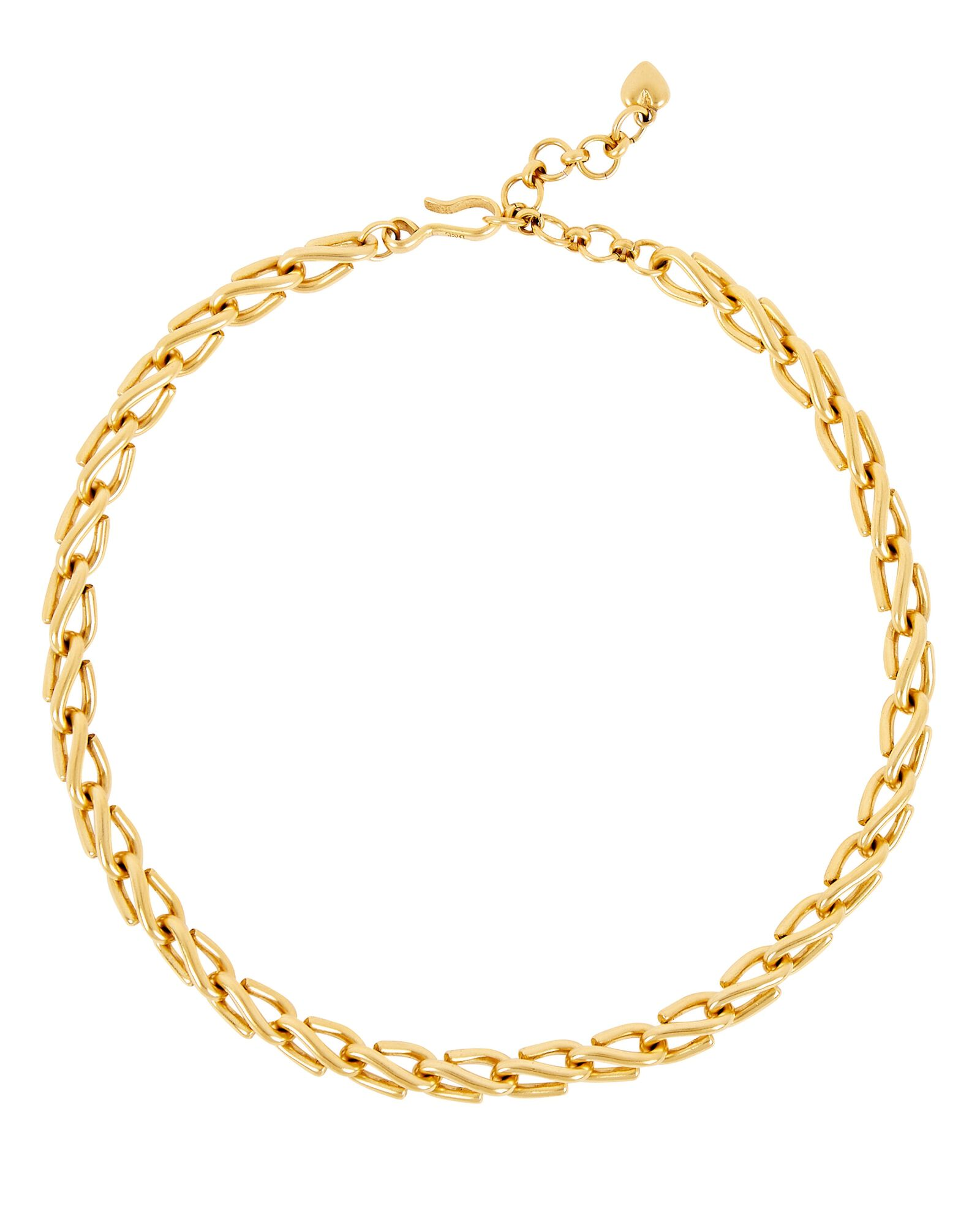 Harley Chain-Link Necklace, GOLD, hi-res