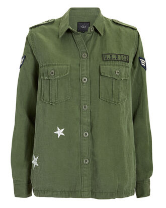 Kato Star Military Jacket, OLIVE/ARMY, hi-res