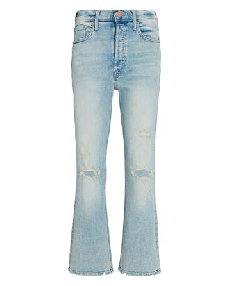 The Tripper Distressed Straight-Leg Jeans, CUT FLOWERS, hi-res