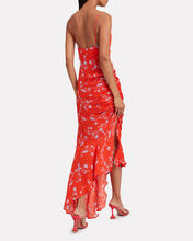 Poppy Silk Floral Slip Dress, MULTI, hi-res