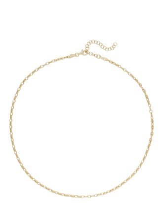 Safa Chain-Link Choker Necklace, GOLD, hi-res