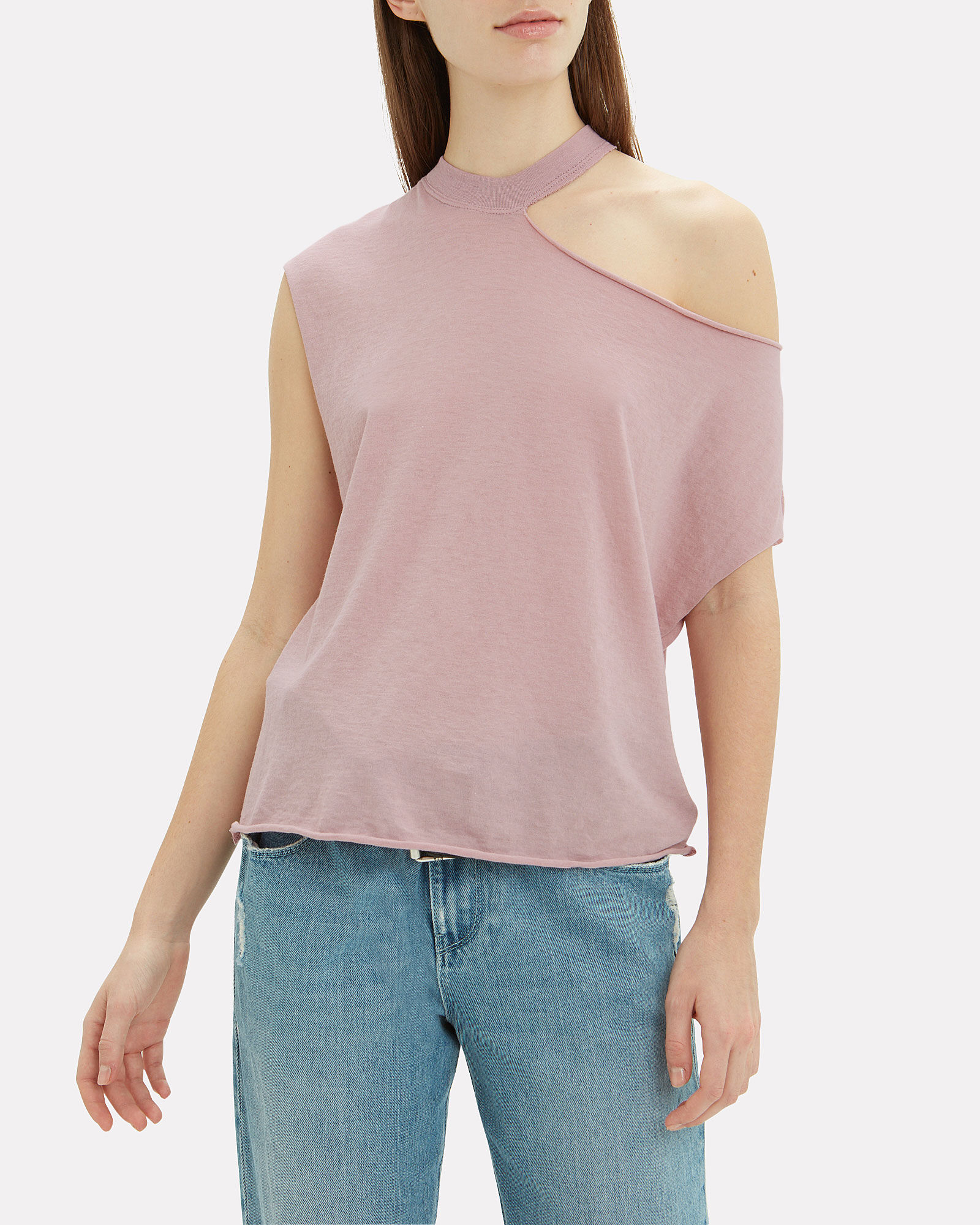 Axel Cutout T-Shirt, BLUSH, hi-res