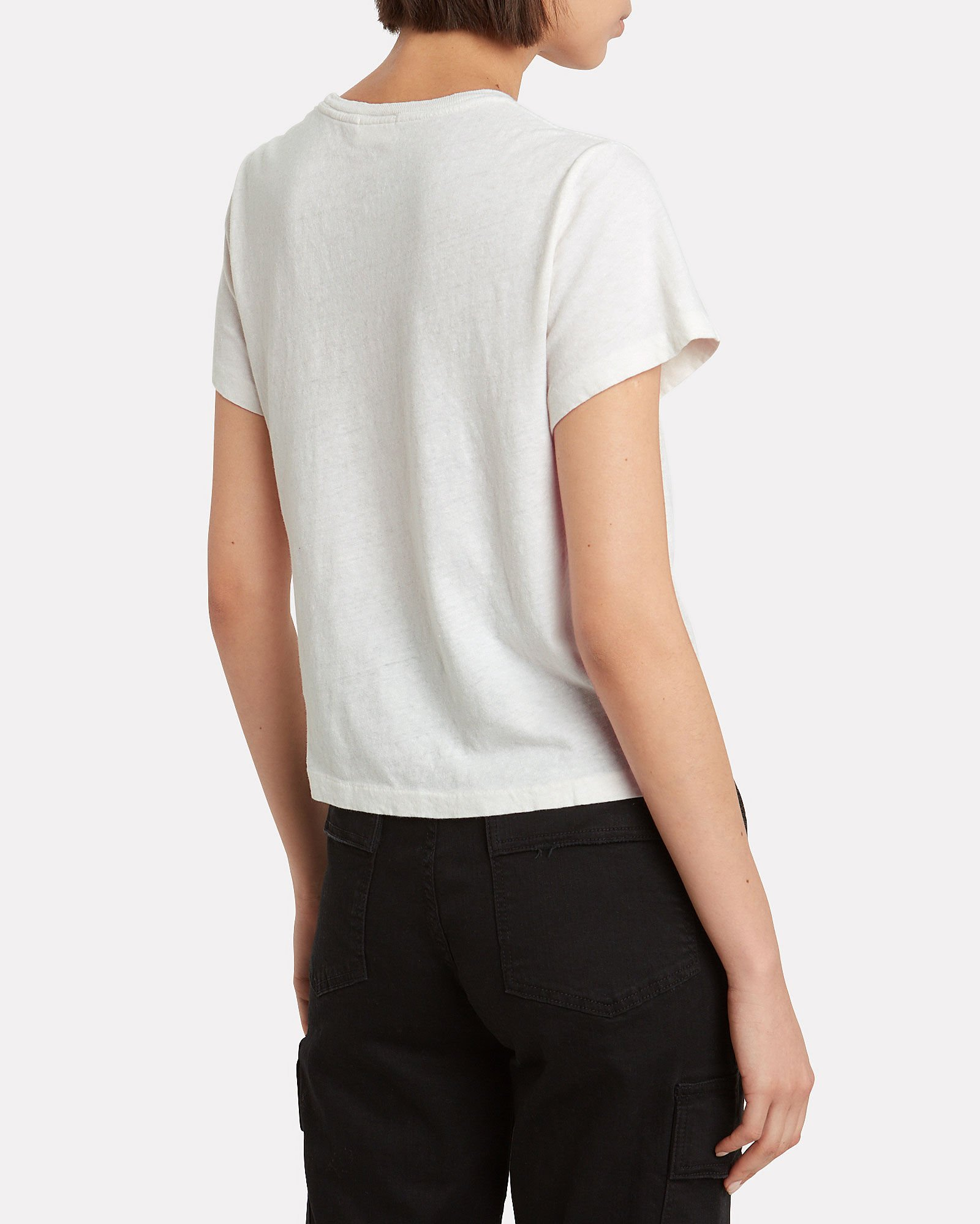 """""""Come See Me Sometime"""" Cotton T-Shirt, IVORY, hi-res"""