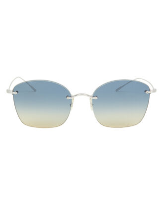 Marlien Gradient Sunglasses, BLUE/GOLD, hi-res