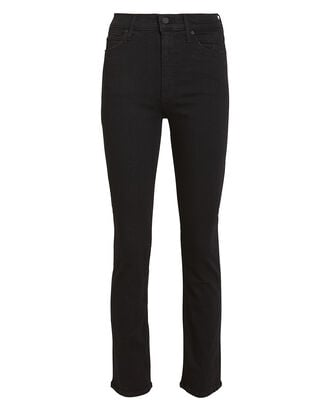 The Dazzler Slim Straight Leg Jeans, BLACK DENIM, hi-res