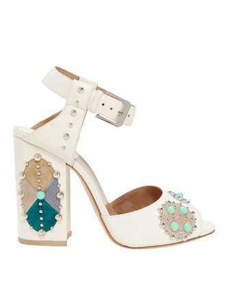 Rosemary Sandals, WHITE, hi-res