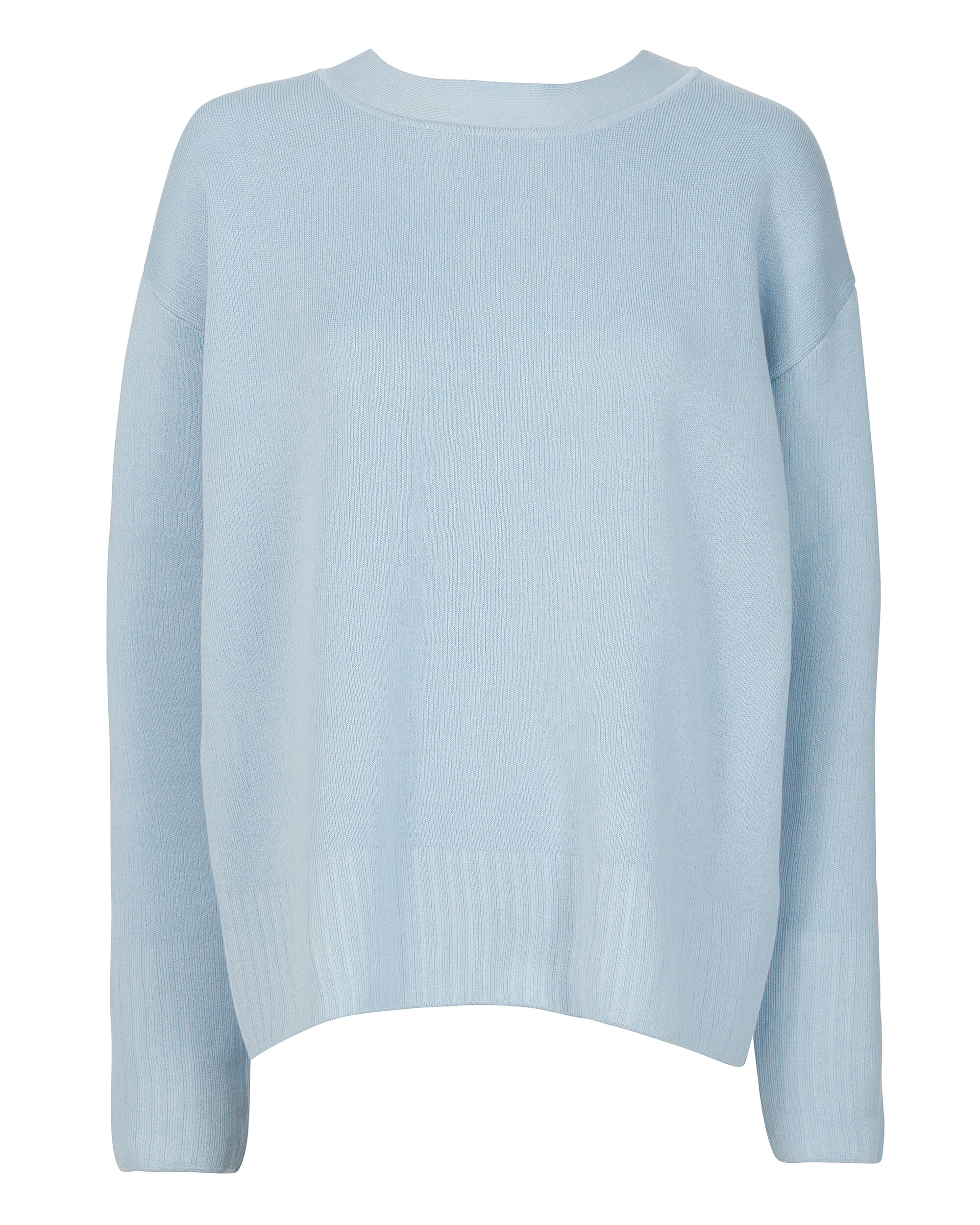 Textured Pullover Sweater, BLUE-LT, hi-res