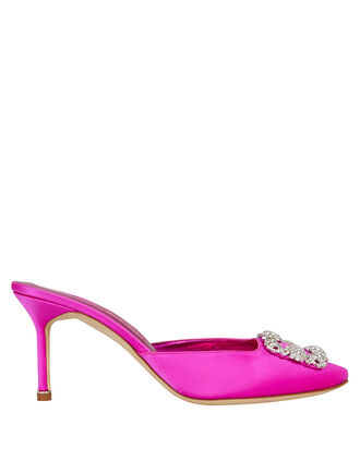 Hangisi Crystal Mules, HOT PINK, hi-res