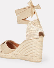 Bluma 80 Espadrille Wedges, GOLD, hi-res