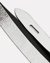 Lecce Knotted Leather Belt, SILVER, hi-res