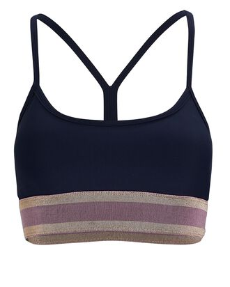 Astell Striped Tank Top, NAVY, hi-res