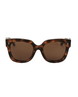 008 Tortoiseshell Square Sunglasses, BROWN, hi-res