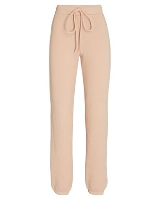 Cotton Terry Joggers, BLUSH, hi-res