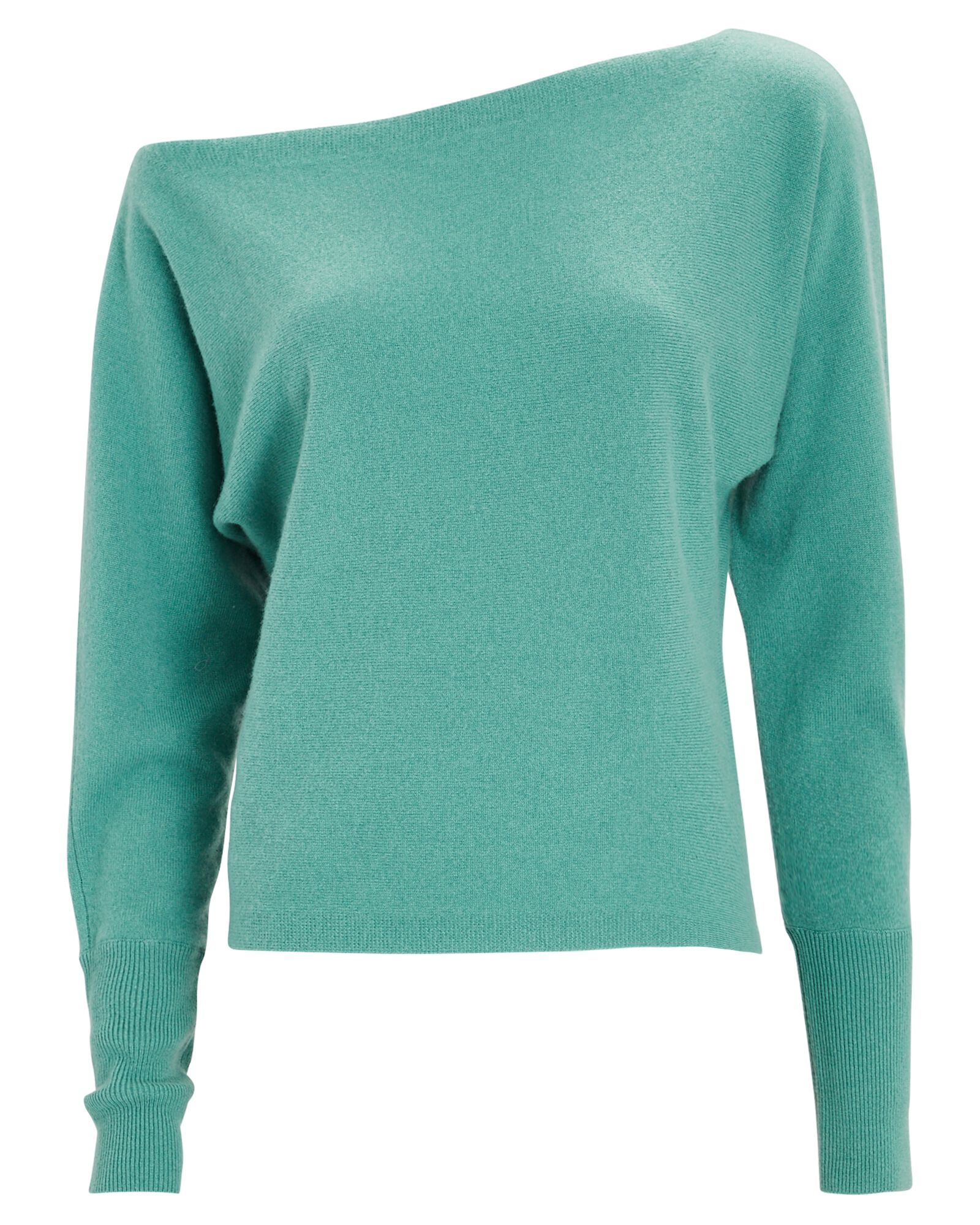 Reese Off-The-Shoulder Sweater, GREEN, hi-res