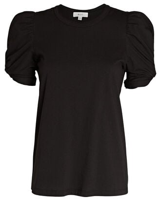 Kati Puff Sleeve T-Shirt, BLACK, hi-res