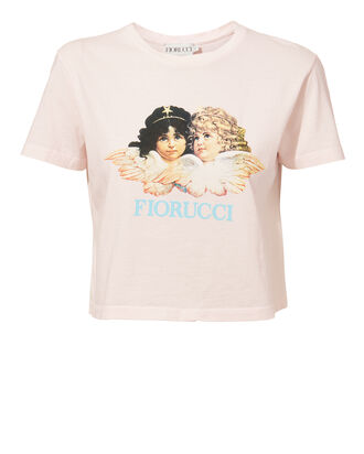 Vintage Angels Cropped Tee, PINK, hi-res