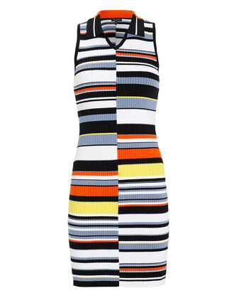 Mason Polo Dress, NAVY/STRIPES, hi-res