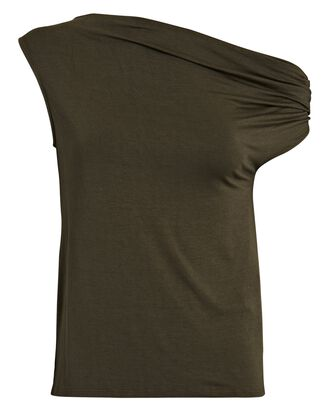 Slouch Sleeveless Jersey Top, OLIVE/ARMY, hi-res
