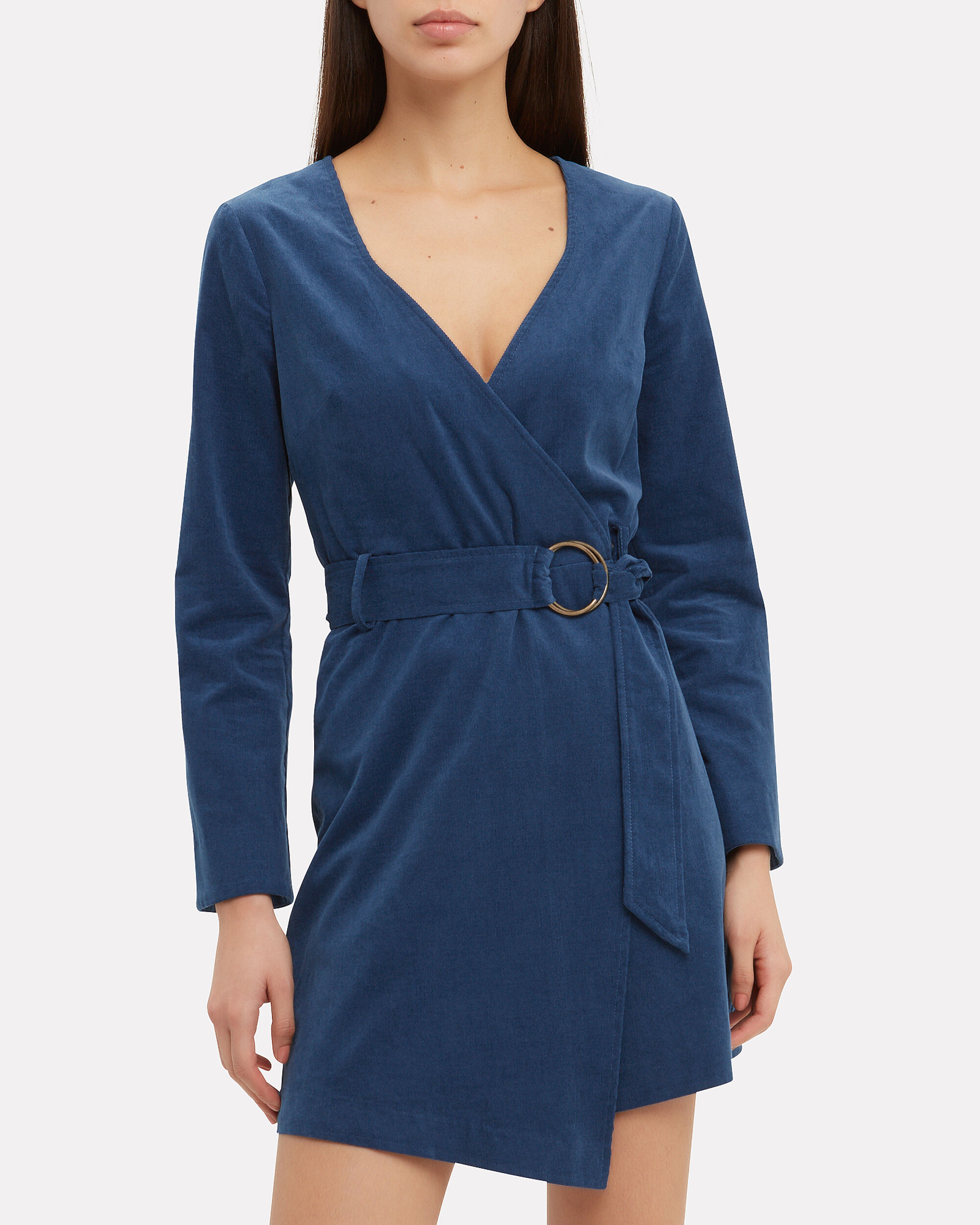 Delphine Wrap Dress, MULTI, hi-res
