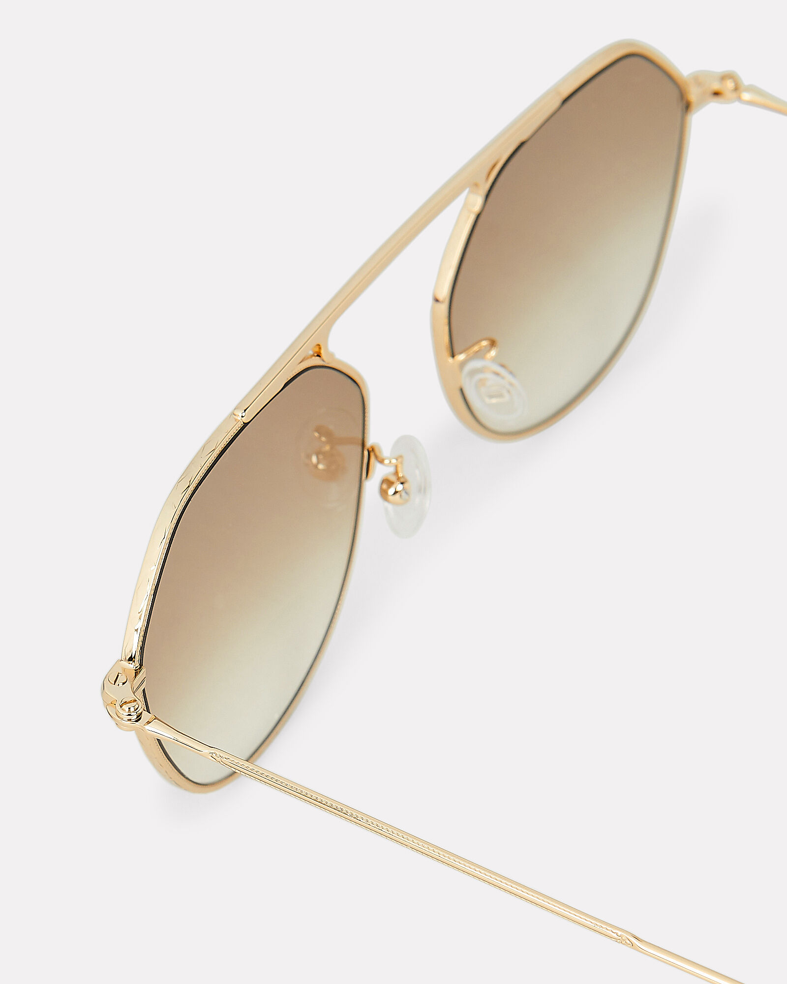 Nicosia Aviator Sunglasses, GOLD, hi-res