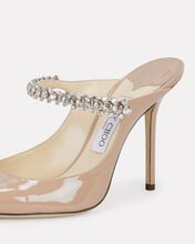 Bing Patent Crystal-Embellished Pumps, BEIGE, hi-res