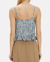 Daisy Amore Cropped Cami, BLUE-MED, hi-res