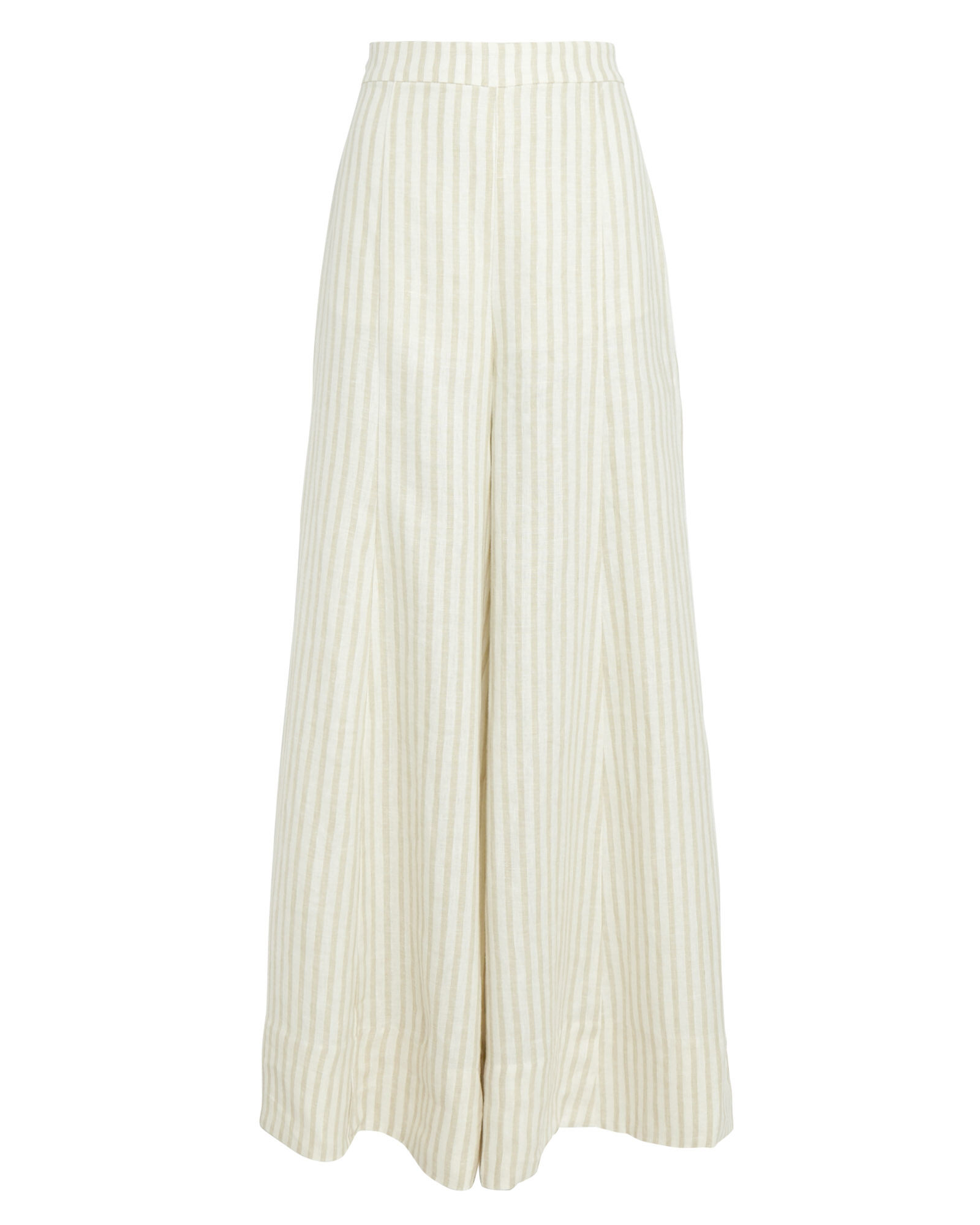 Kennedy Linen Palazzo Pants, IVORY, hi-res