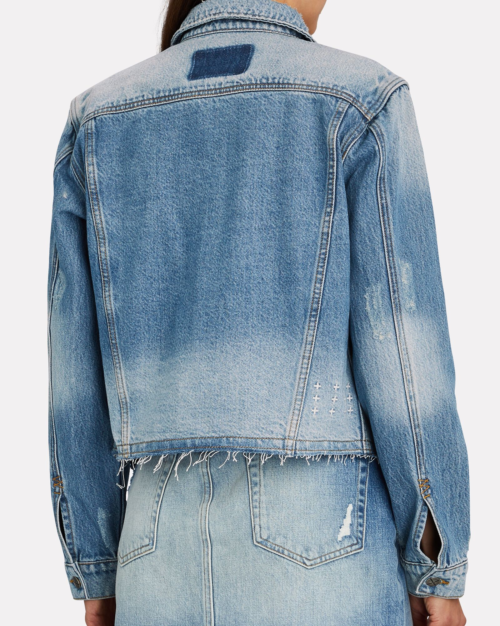 Tour Stonewashed Denim Jacket, TRUE VINTAGE, hi-res