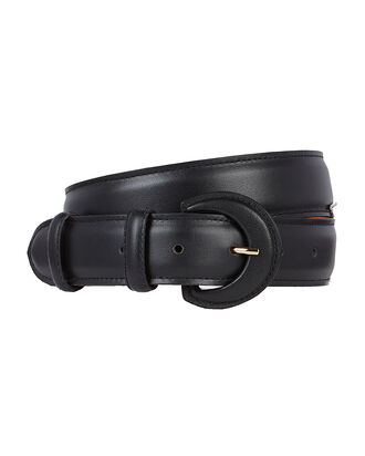 Nappa Leather Hip Belt, BLACK, hi-res