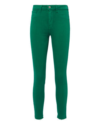 Margot Emerald Skinny Jeans, GREEN, hi-res