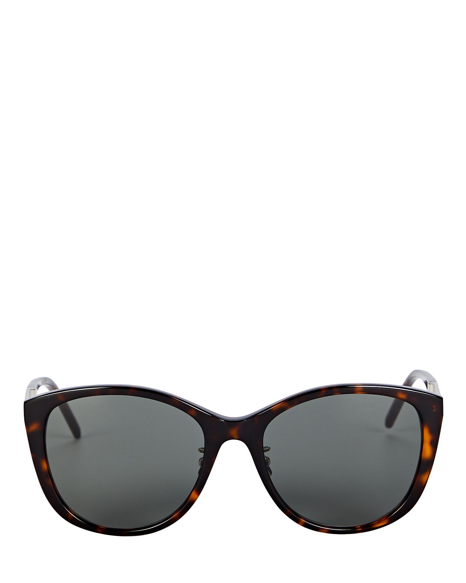 Oversized Cat Eye Sunglasses, BROWN, hi-res