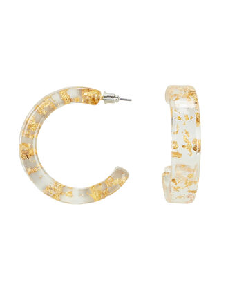 Faro Open Hoop Earrings, MULTI, hi-res
