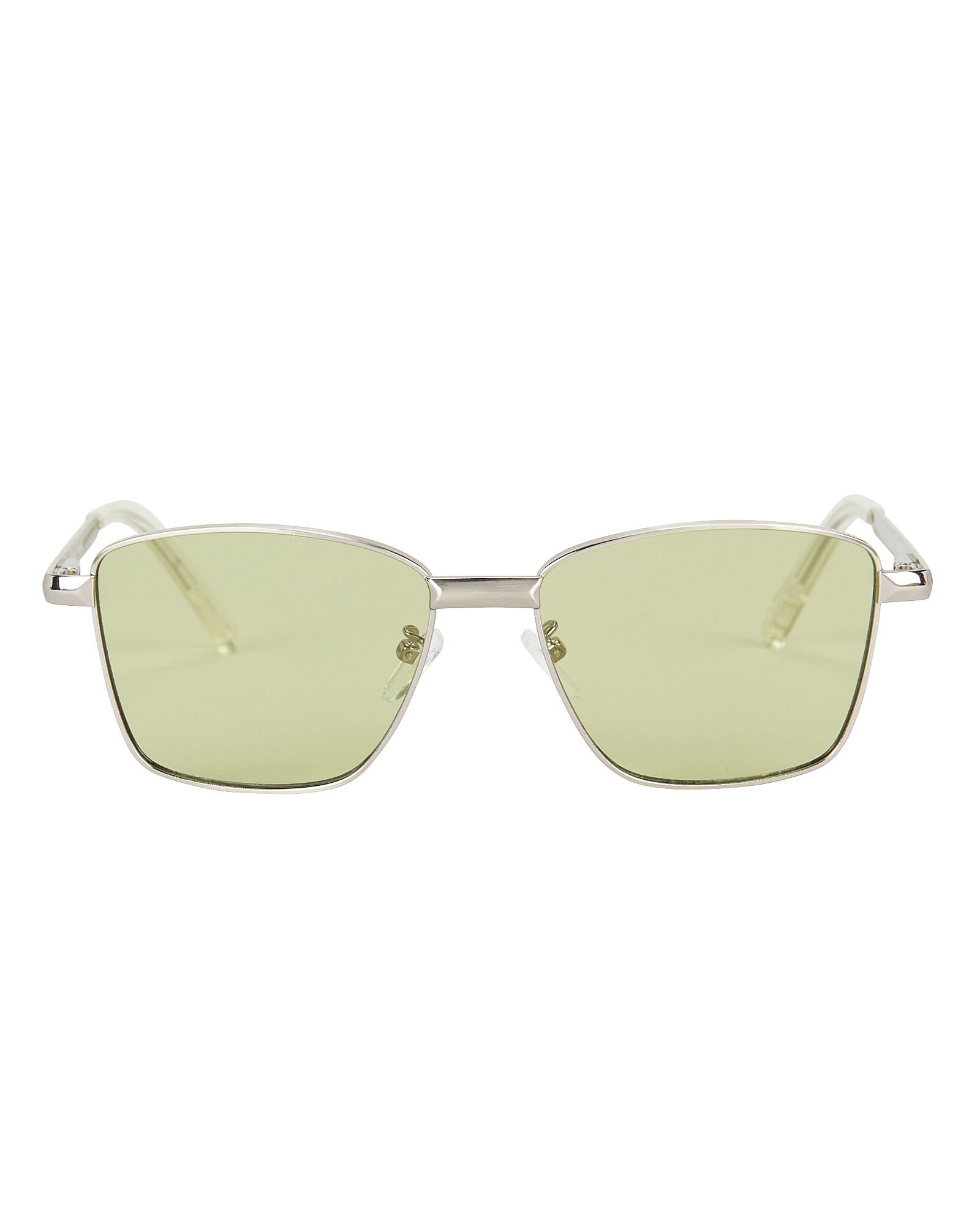 Superstar Wire Sunglasses, LIGHT GREEN, hi-res