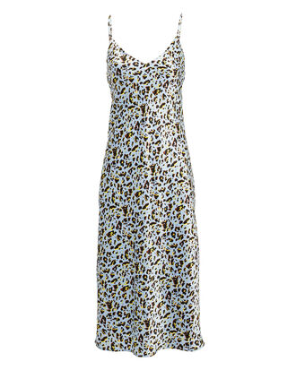 Jodie Slip Dress, SKY BLUE/LEOPARD, hi-res