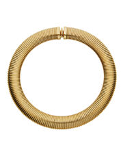 Aida Collar Necklace, GOLD, hi-res