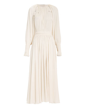 Adonia Dress, IVORY, hi-res