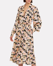 Amelie Swans Midi Dress, MULTI, hi-res