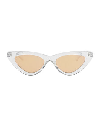 The Last Lolita Cat Eye Sunglasses, CLEAR, hi-res